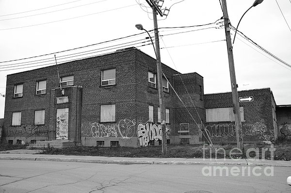 Dunn Street Montreal Print by Reb Frost