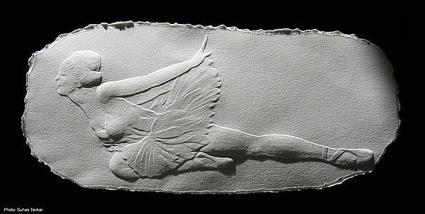 Dying Swan Print by Suhas Tavkar