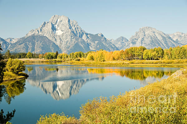 Bob and Nancy Kendrick - Early Autumn at Oxbow Bend