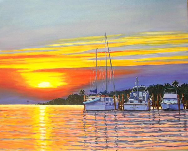 Jerry Spangler - Early Morning at the Marina