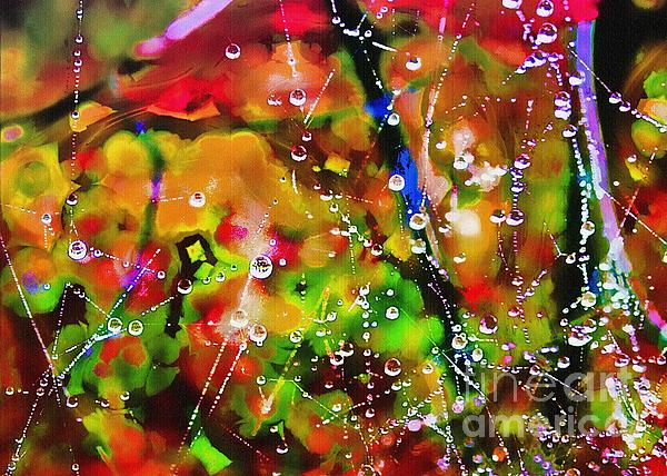 Early Morning Dew Print by Judi Bagwell