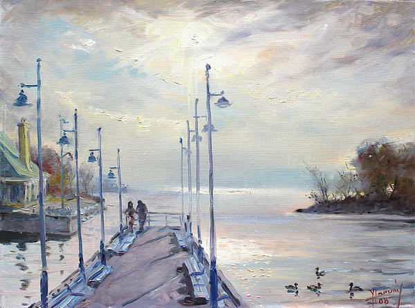 Ylli Haruni - Early Morning in Lake Shore