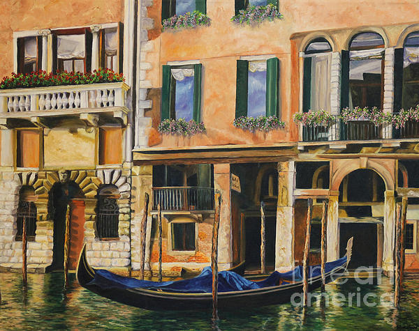Charlotte Blanchard - Early Morning in Venice