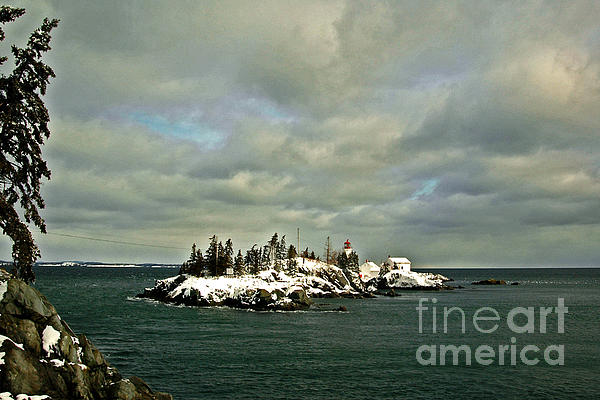 East Quoddy Lighthouse Print by Alana Ranney