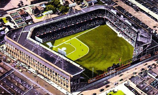 Ebbets Field In Brooklyn N Y In 1930 Print by Dwight Goss