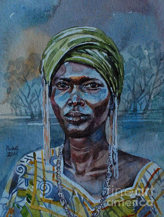 Mohamed Fadul - Ebony girl