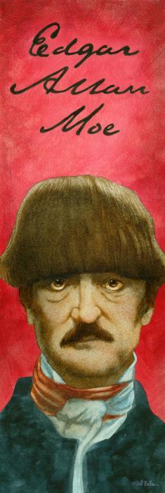 Edgar Allan Moe... Print by Will Bullas