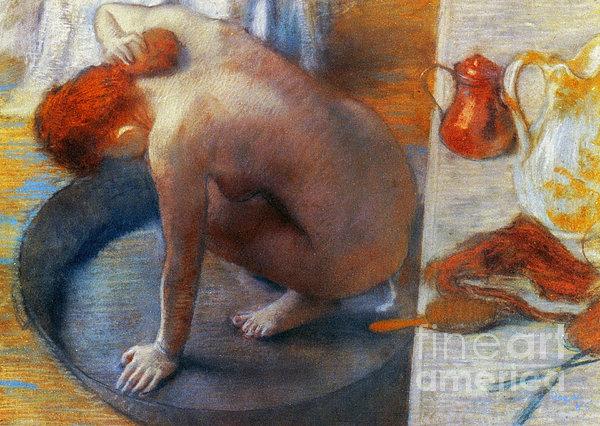 Edgar Degas: The Tub, 1886 Print by Granger
