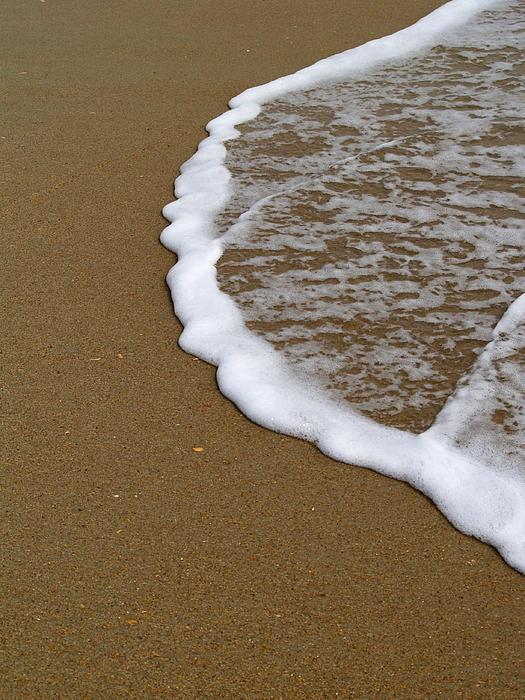 Edge Of The Ocean Print by Jeremy Allen