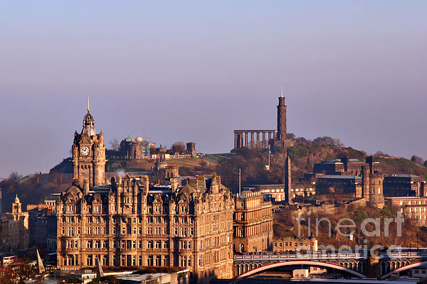 Edinburgh Scotland - A Top-class European City Print by Christine Till