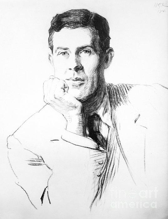 Edmund Clerihew Bentley Print by Granger