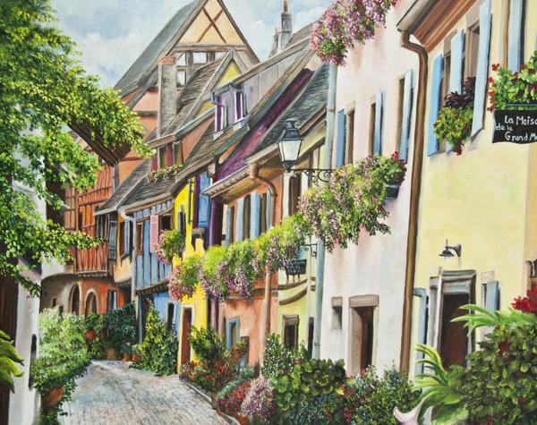 Charlotte Blanchard - Eguisheim In Bloom