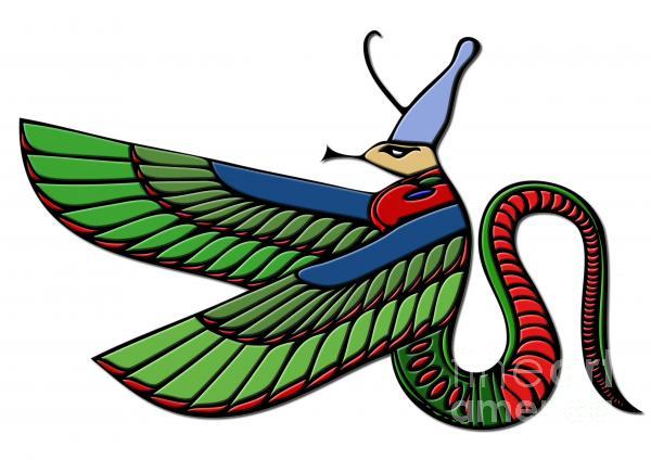 Egyptian Demon Print by Michal Boubin