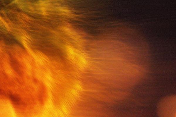 Egypt's Flame Print by Carolina Liechtenstein