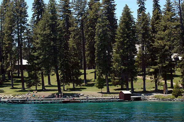 Ehrman Mansion Lake Tahoe Print by LeeAnn McLaneGoetz McLaneGoetzStudioLLCcom
