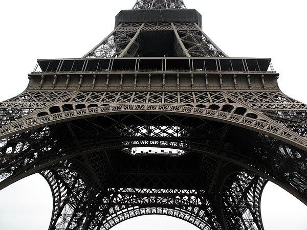 Eiffel Tower Print by G Fletcher