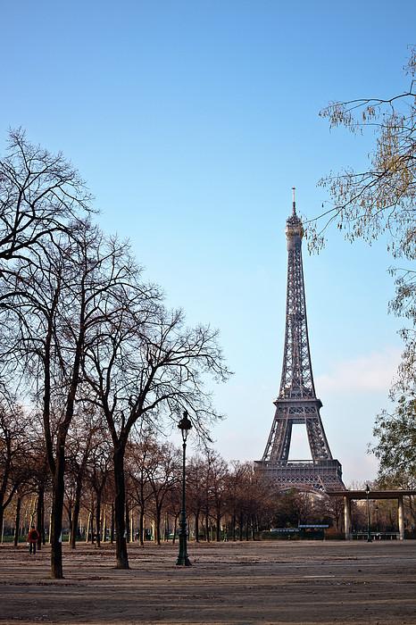 Eiffel Tower In Paris Print by Tuan Tran