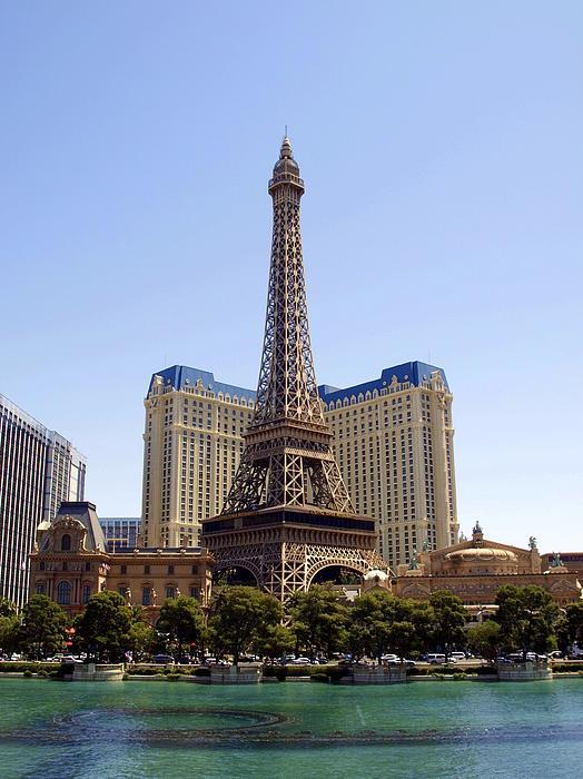 Eiffel Tower Las Vegas Print by James Granberry