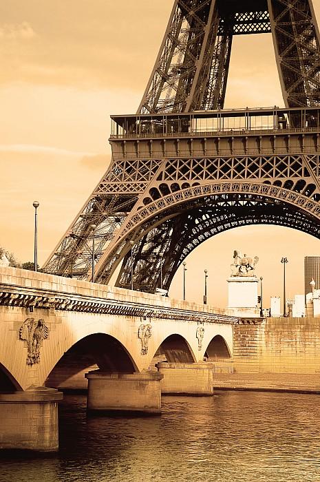 Eiffel Tower, Paris, France Print by Carson Ganci