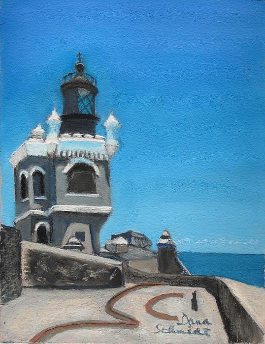 El Morro Fort In Old San Juan Puerto Rico Print by Dana Schmidt