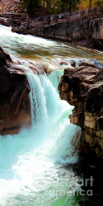 Larry Guterson - Elbow Falls