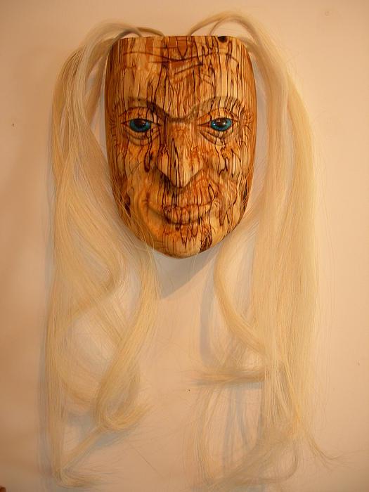 Elder Woman Print by Shane  Tweten