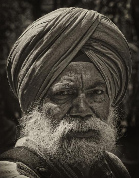 Robert Ullmann - Elderly Sikh