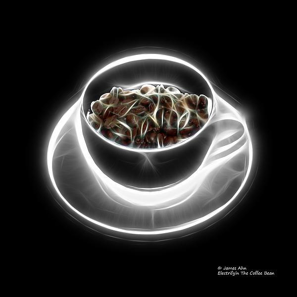 James Ahn - Electrifyin The Coffee Bean -Version Greyscale