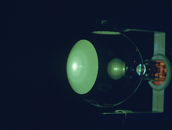 Electron Diffraction Tube Print by Andrew Lambert Photography