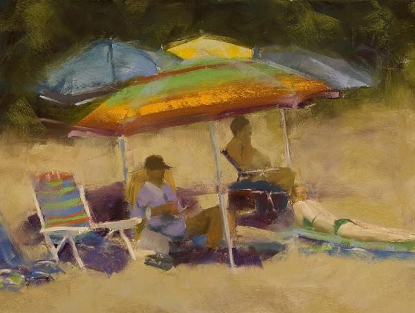 Elkins South Beach Print by David Patterson