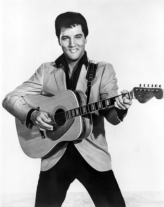 Elvis Presley, C. Mid-1960s Print by Everett