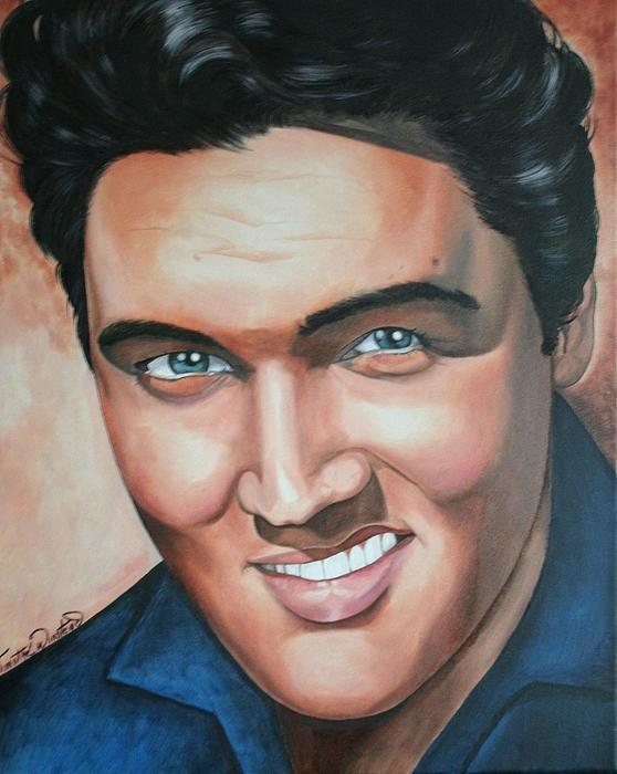 Elvis Presley Print by Timothe Winstead