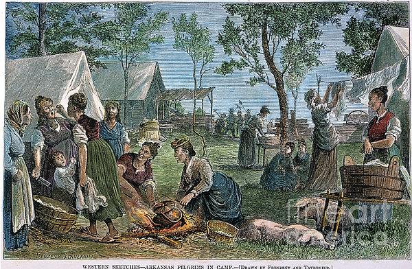 Emigrants: Arkansas, 1874 Print by Granger