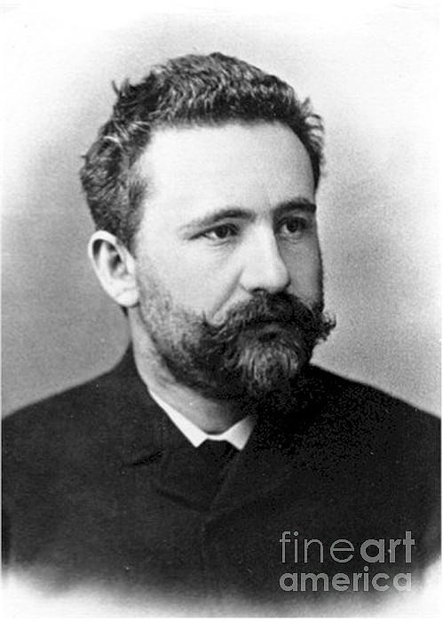 Emil Kraepelin, German Psychiatrist Print by Science Source