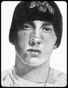 Eminem Fan Art By Eileen Martin