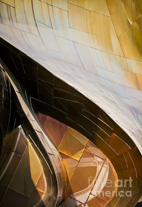 Emp Curves Print by Chris Dutton