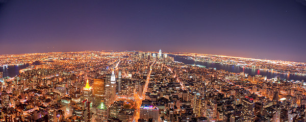 Empire State Building 86th Floor Observatory Print by James DiBianco Jr