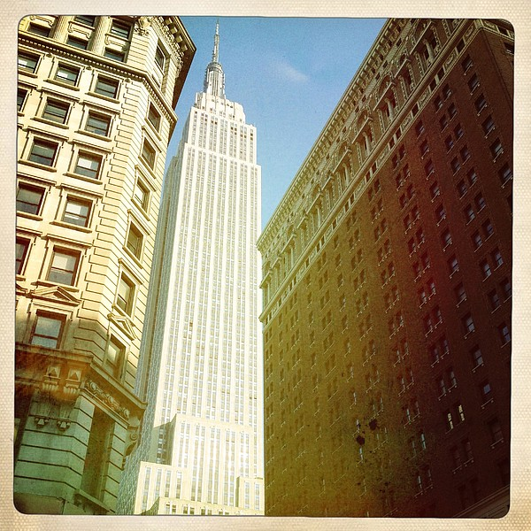 Empire State Building Print by Ben Peterson