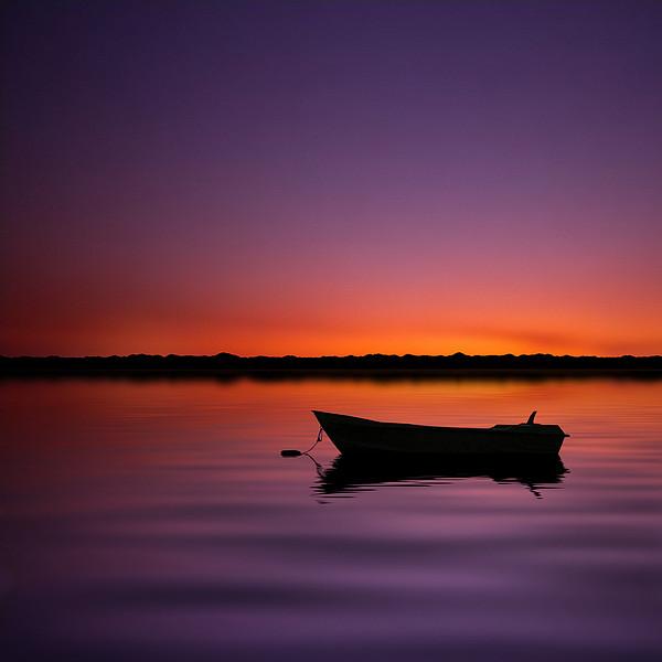 Enjoying Serenity Print by Carlos Gotay