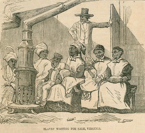 Enslaved African American Women Print by Everett