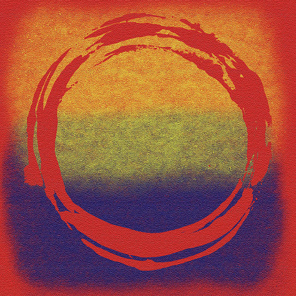 Enso 7 Print by Julie Niemela