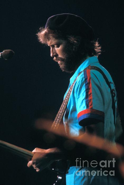 Eric Clapton Print by Marc Bittan