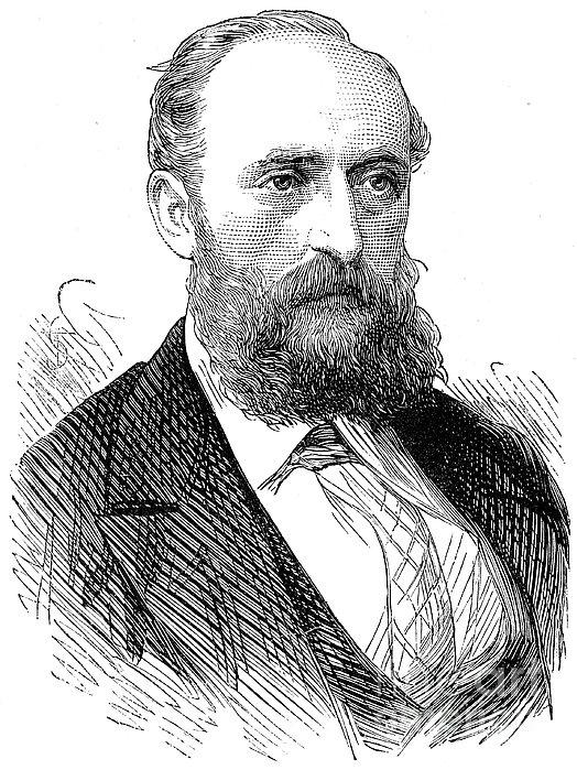 Ernest Giles (1835-1897) Print by Granger