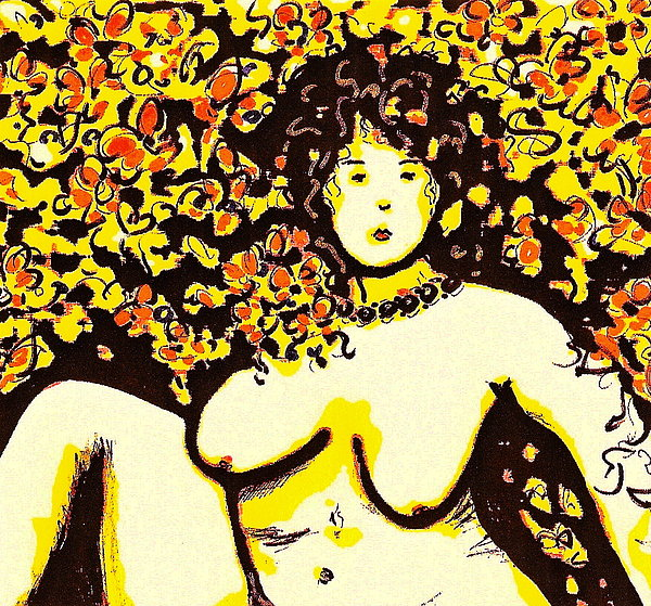 Erotic Desire Print by Natalie Holland
