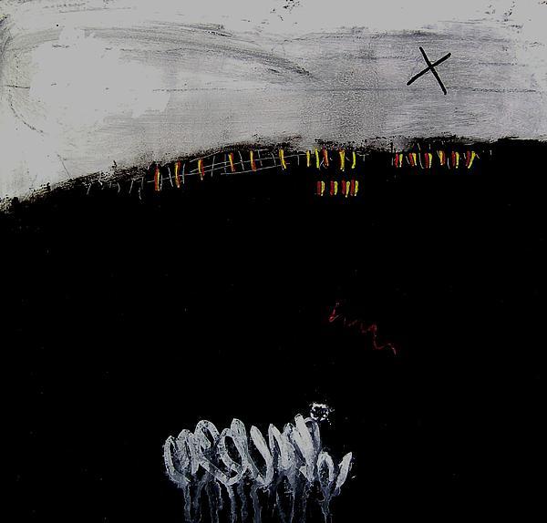 Eruption  Vii Print by Jorgen Rosengaard