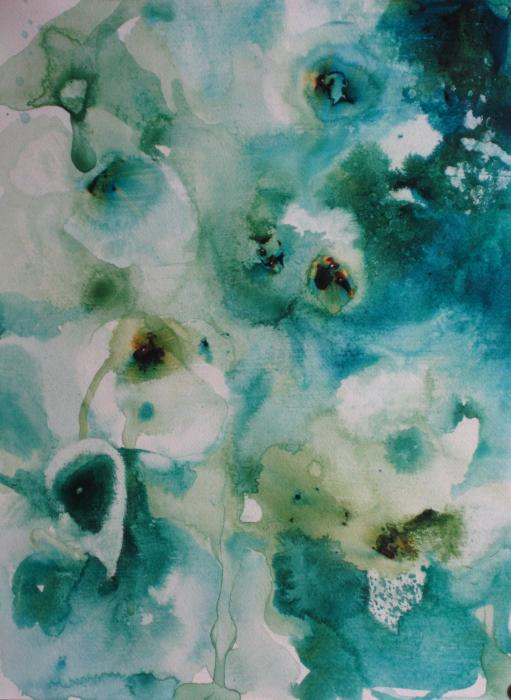 Essence Of Flower Print by Elizabeth Carr