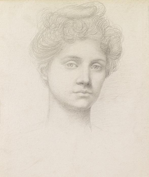 Ethel Pickering Print by Evelyn De Morgan