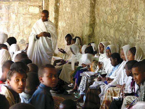 Ethiopian Orthodox Teachings Print by Cherie Richardson