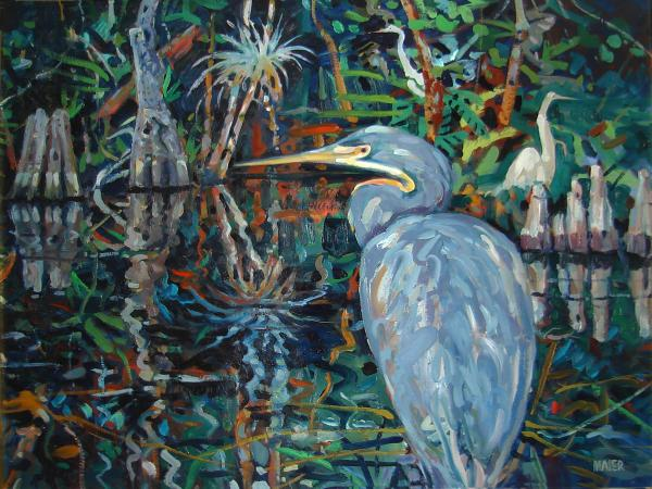 Everglades Print by Donald Maier