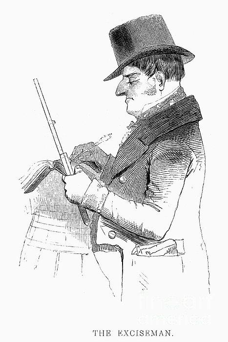 Exciseman, C1840 Print by Granger